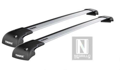 thule 9594 j 2 barras completo wingbar edge para fixpoint. Black Bedroom Furniture Sets. Home Design Ideas