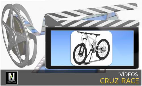 Montamos el nuevo portabicicletas Cruz Race sobre barras portaequipajes.