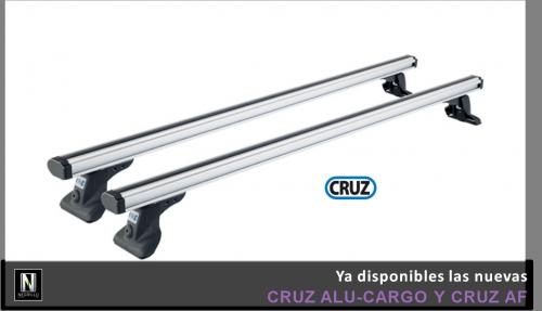 Nuevas barras Cruz Alu-Cargo y Cruz AF.
