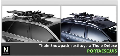 Thule Snowpack sustituye a Thule Deluxe