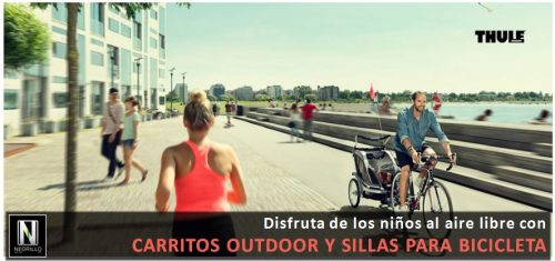 Carritos outdoor y sillas para bicicleta