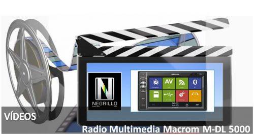 Probamos la Radio multimedia Macrom M-DL5000