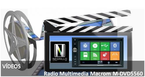 Radio Multimedia Macrom M-DVD5560