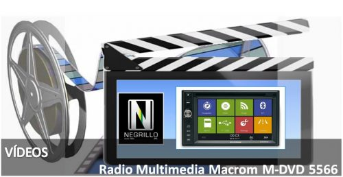 Radio Multimedia M-DVD5566