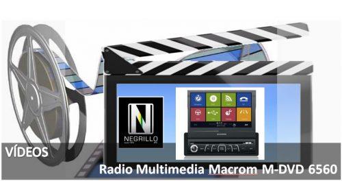Descubre la Radio Multimedia Macrom M-DVD6560