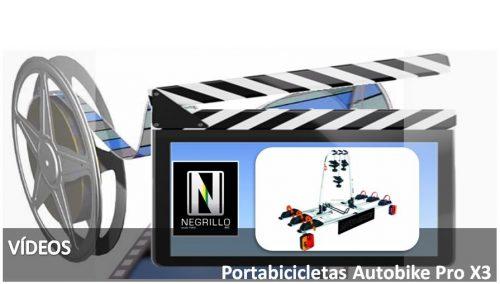 Portabicicletas Autobike Pro X3