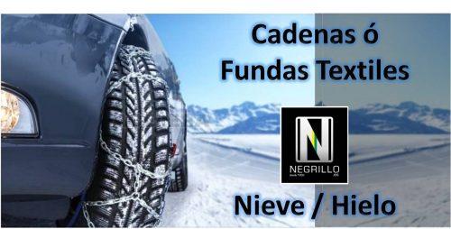 Cadenas y Fundas Textiles para hielo y nieve