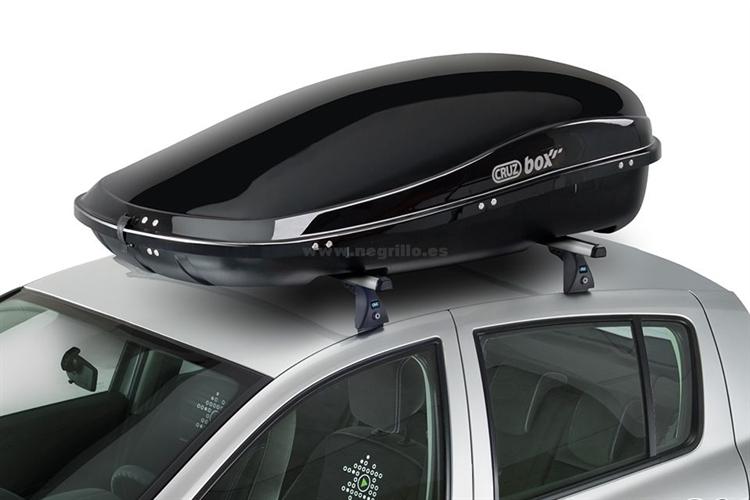 Cofre de techo cruzbox clan 450 u80 - Cofre techo coche ...