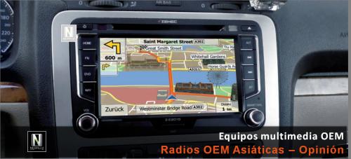 Radios Multimedia OEM – Asiáticas vs. resto del mercado