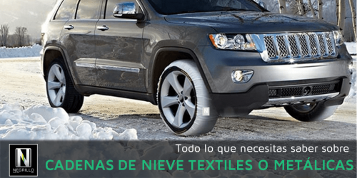 Todo lo que necesitas saber sobre cadenas de nieve textiles o metálicas