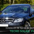 Instalación de barras portaequipajes en coches con techos solares o panorámicos