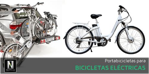 Portabicis para bicicletas eléctricas