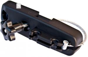 Sistema de fijación de cable de acero