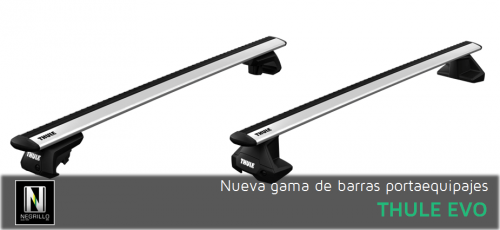Nueva gama de barras portaequipajes Thule Evo