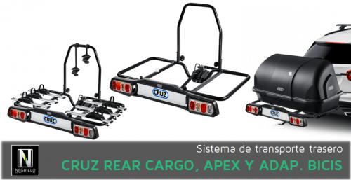 Cruz Rear Cargo y sus accesorios